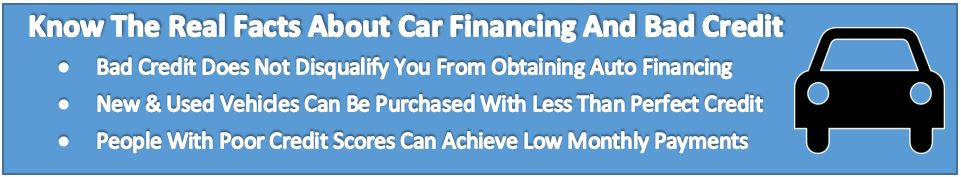 Bad Credit Car Loan Financing Louisville KY Know Facts