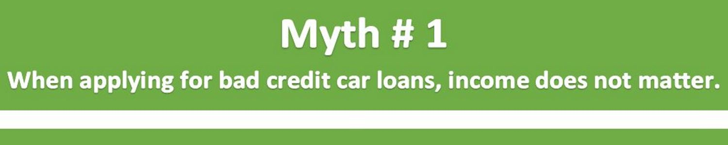 Myth 1 Bad Credit Score Income Does Not Matter Louisville KY