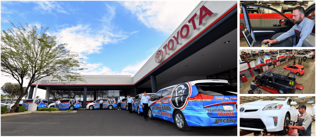 Precision Toyota of Tucson Service Center banner