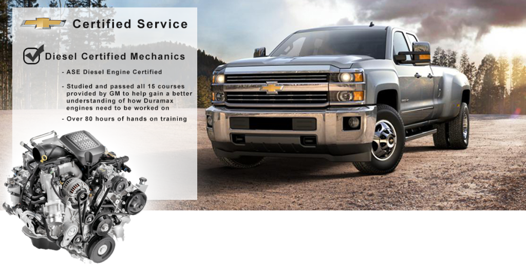 Certified GM Diesel Service at Quirk Chevrolet Near Nashua NH