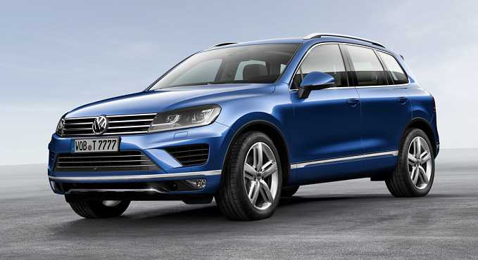Get To Know Your 2016 Volkswagen Touareg TDI Lux