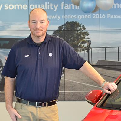 Brad Mogan - Assistant Service Manager