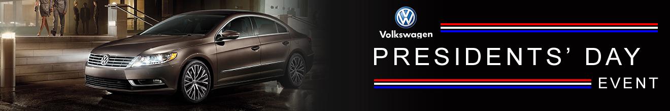 Quirk Volkswagen Presidents' Day Banner