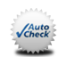 Auto Check seal with check mark