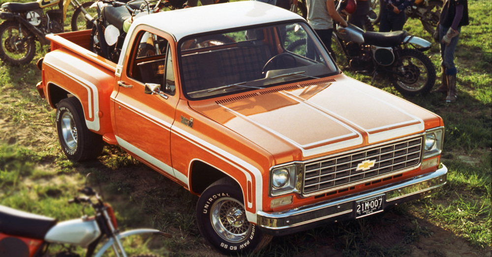 1976 Chevrolet C/10 Stepside Pickup