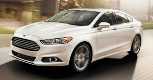 2015 Ford Fusion White
