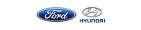Ford Hyundai Logos