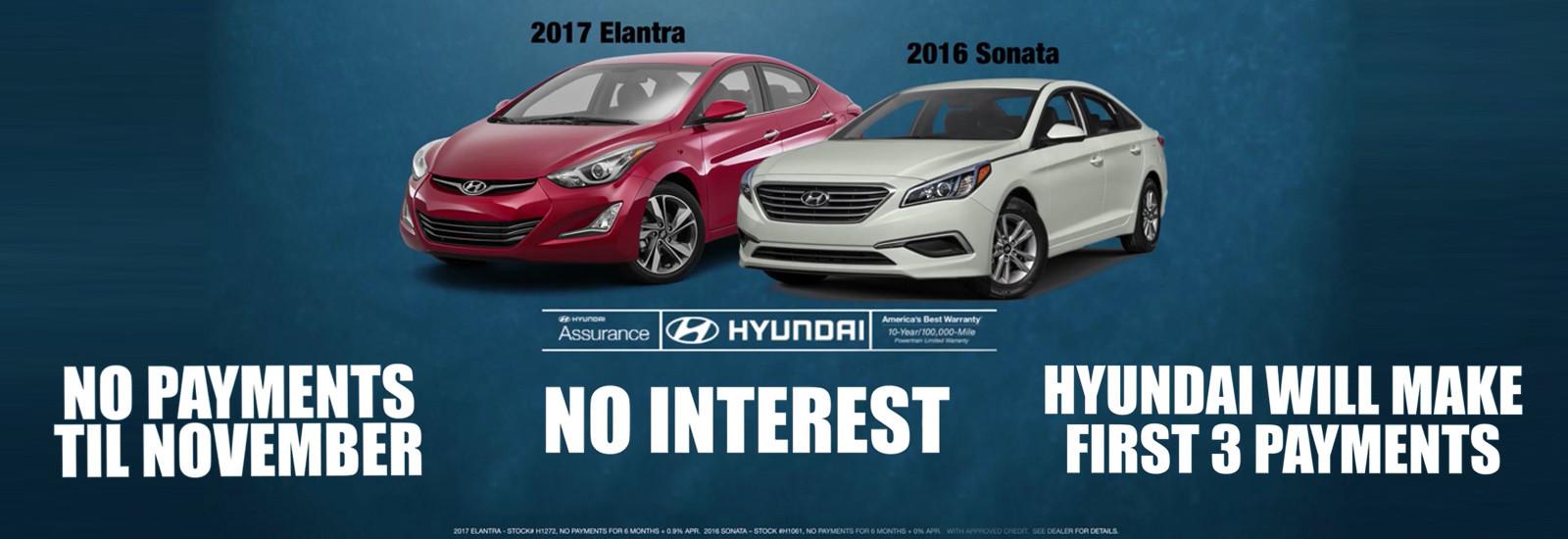 Hyundai Sonata & Elantra