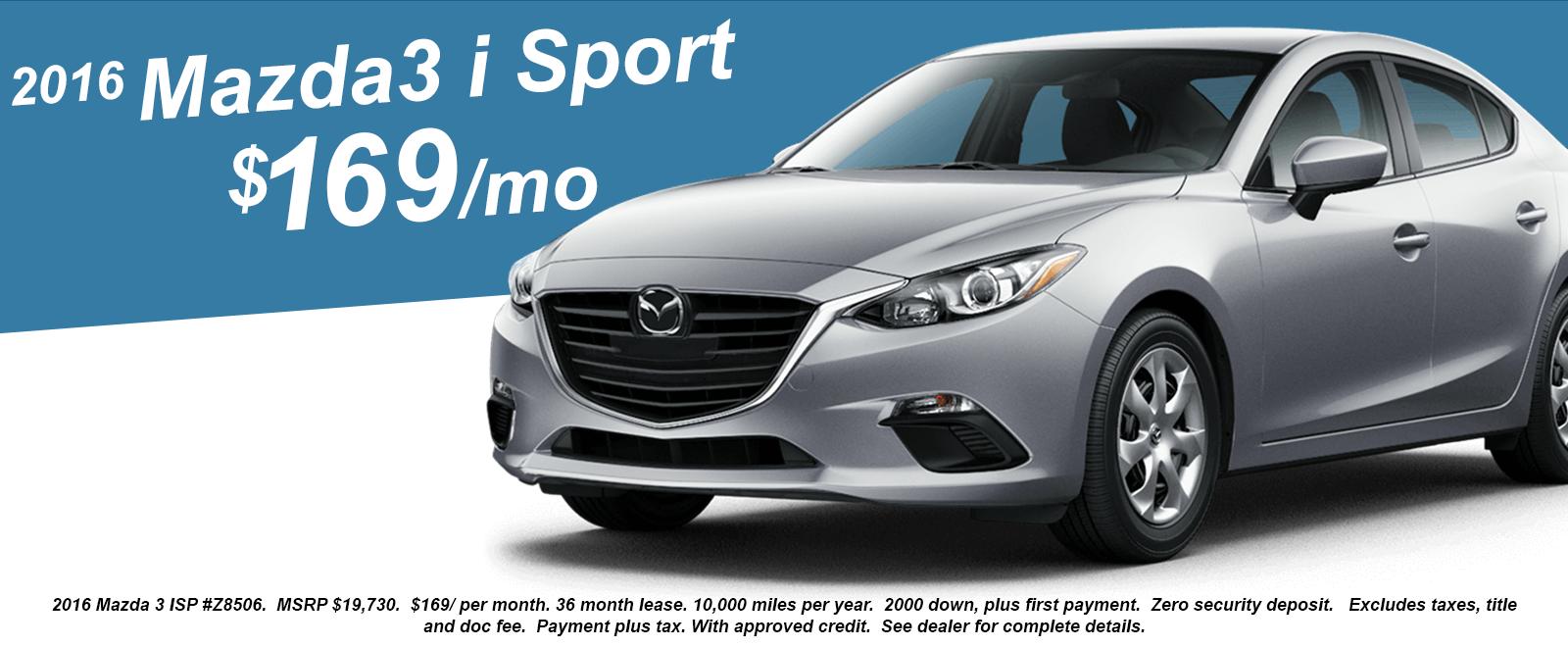 Mazda3 i Sport