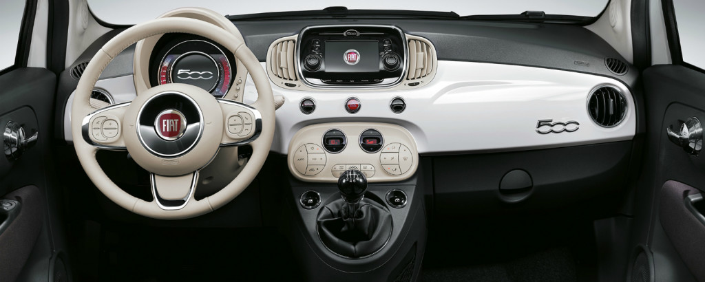 2016 500c interior