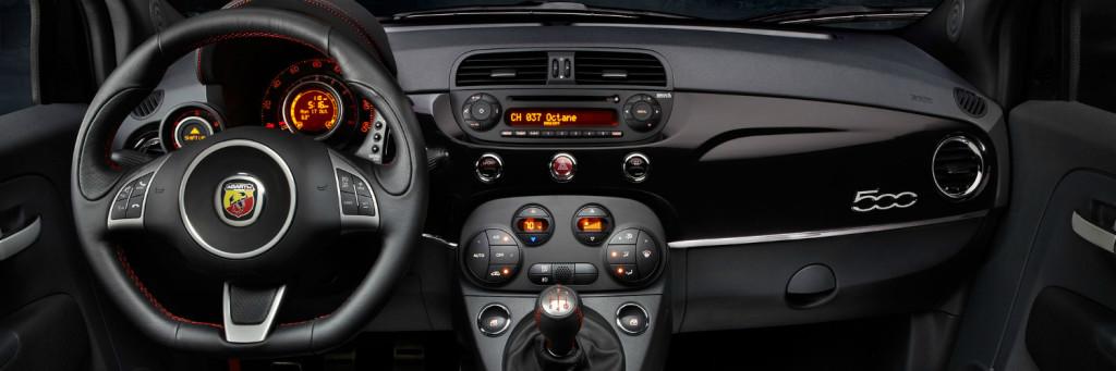2016 FIat 500L interior