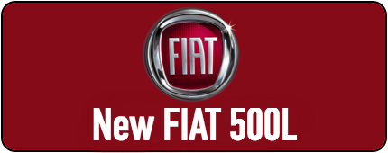 New Fiat 500L button