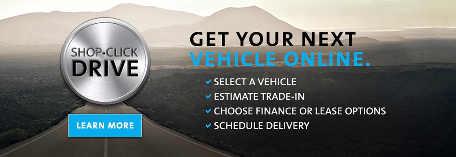 Get Your Next Vehicle Online