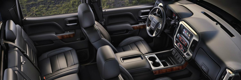 2017 GMC Sierra 2500 interior