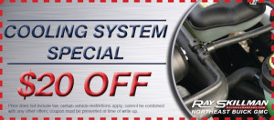 Cooling System NE Buick GMC