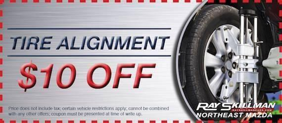 Tire Alignment NE Mazda