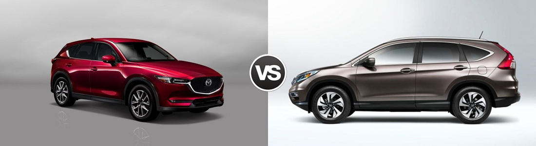 2016 Mazda CX-5 vs Honda CR-V
