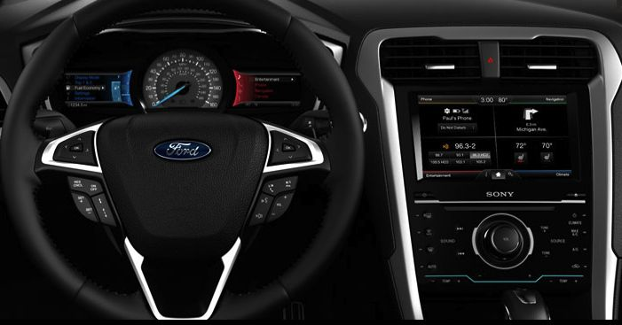 Ford SYNC - Cabin View