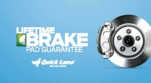 Lifetime Brake pad