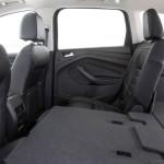 2017 Ford Escape back interior