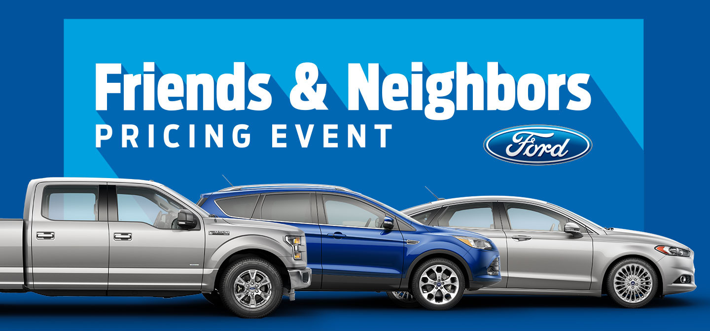 Friends & Neighbors Pricing Event