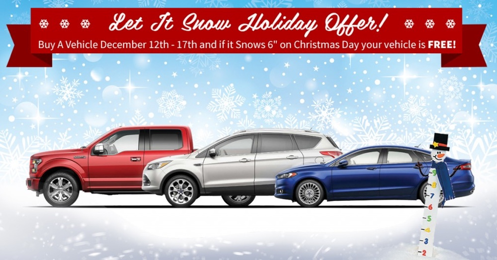 Let It Snow Holiday Offer