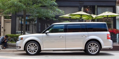 2016 Ford Flex parked