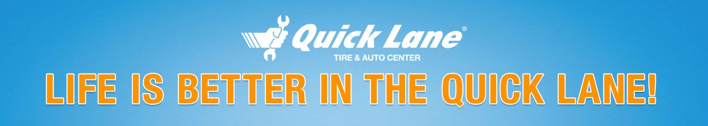 Quick Lane Banner
