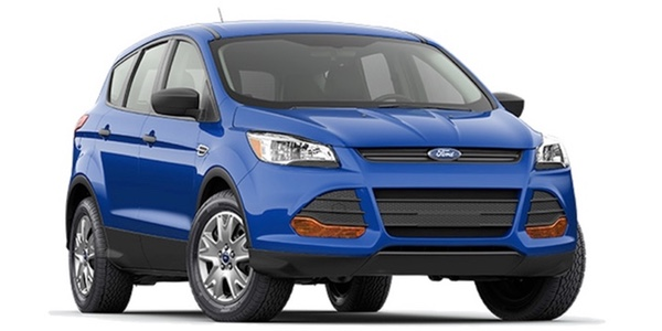 2016 Ford Escape blue exterior