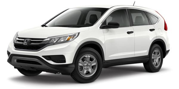 2016 Honda CR-V white exterior