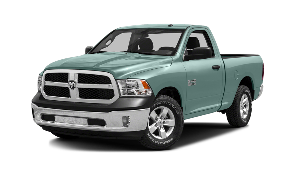2016 Ram 1500 white background