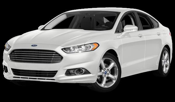 2016 Ford Fusion white exterior