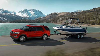 Ford Edge Towing Capacity >> The 2017 Ford Explorer Is Exceeds Your Towing Needs