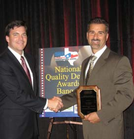 Shannon Motors CEO Gary Gosselin accepting the NEIADA Dealer of the Year award for the second straight year!