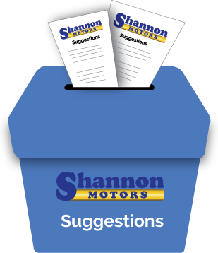 Shannon Suggestion Box