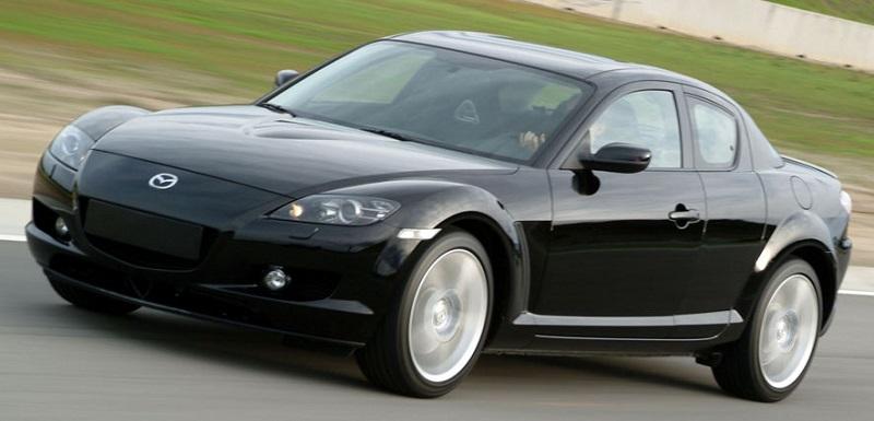 2005 Mazda RX-8.