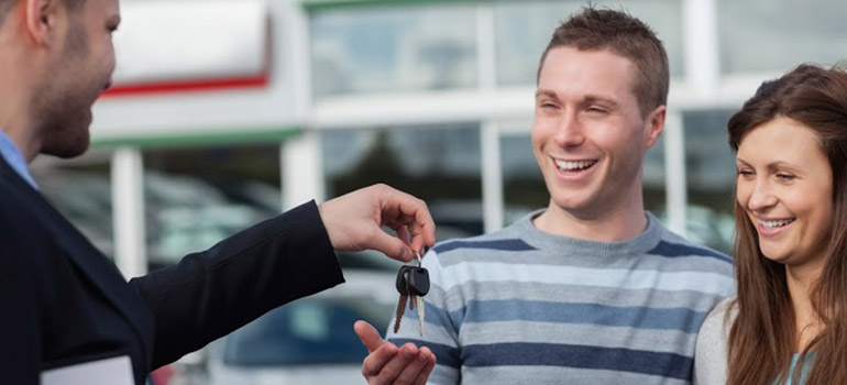 Buying a used car from a dealer