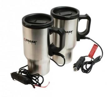 Portable heated mug for your car.