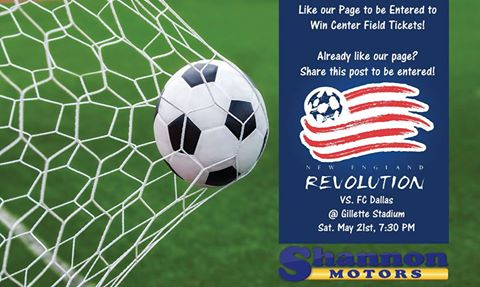 Shannon Motors Revolution Ticket Giveaway
