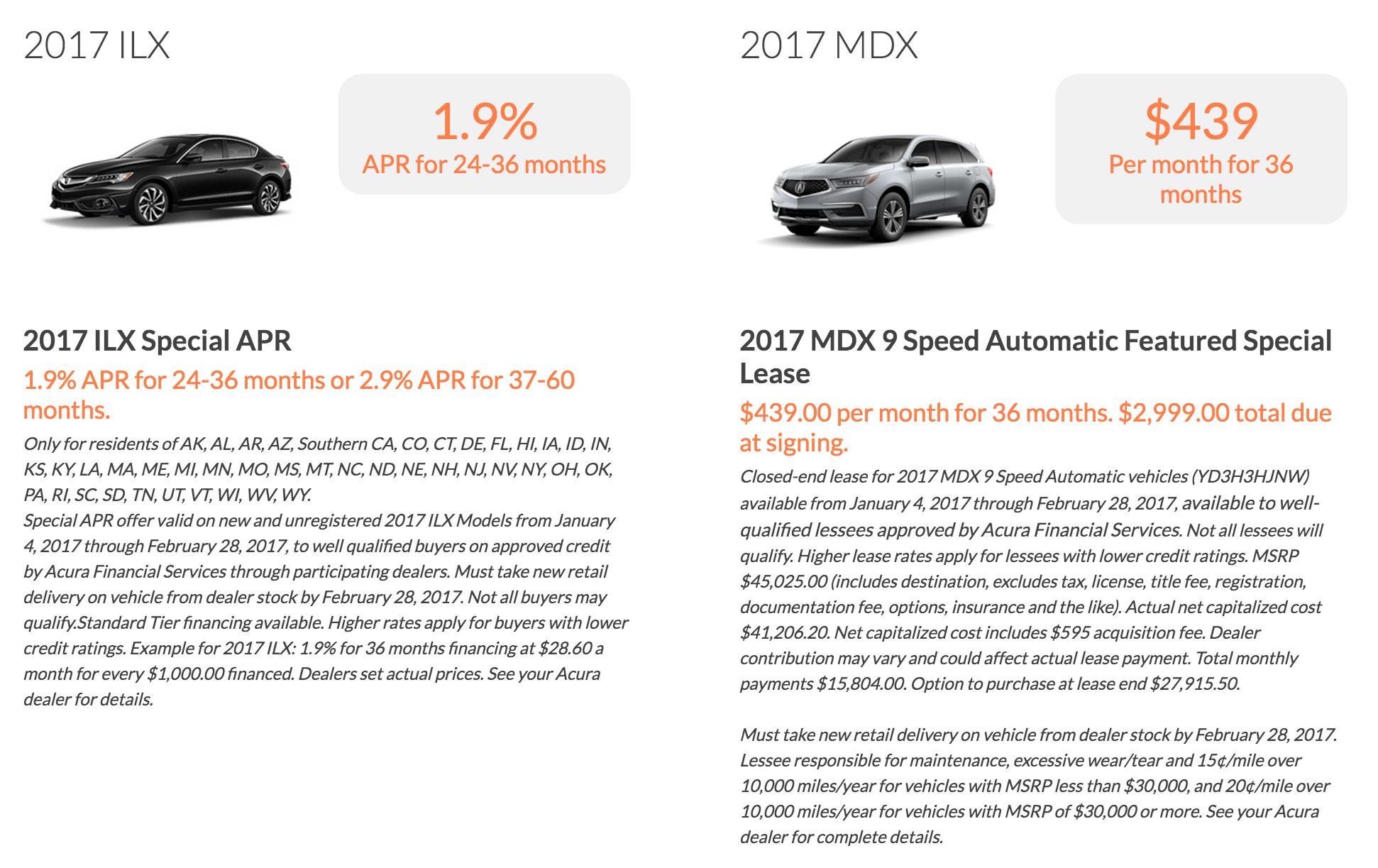 New Acura Car Specials Smithtown | Smithtown Acura