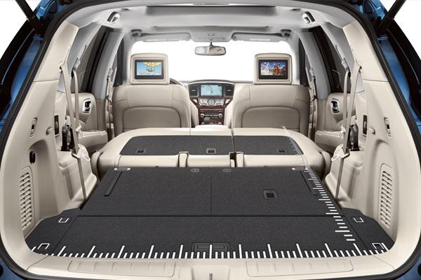 2016 Nissan Pathfinder Cargo