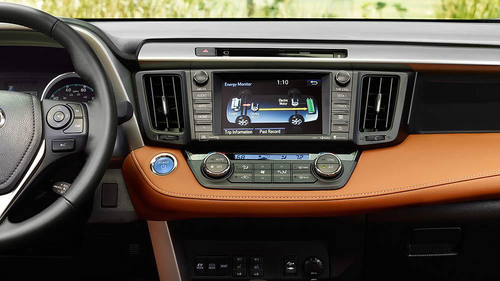 2017 Toyota RAV4 Hybrid Touchscreen