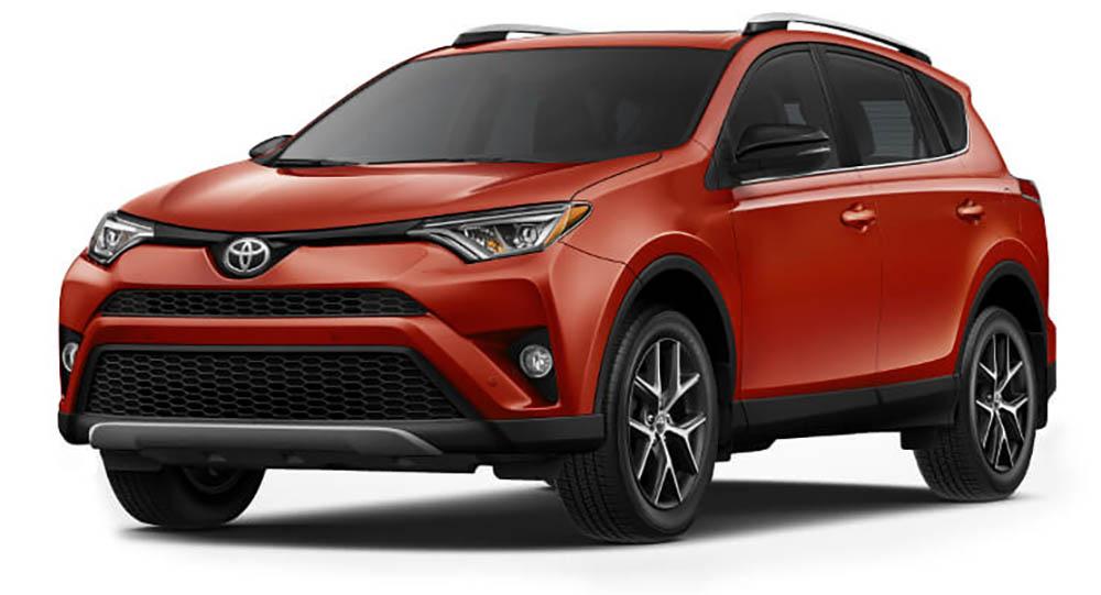 2016-Toyota-Rav4 Red