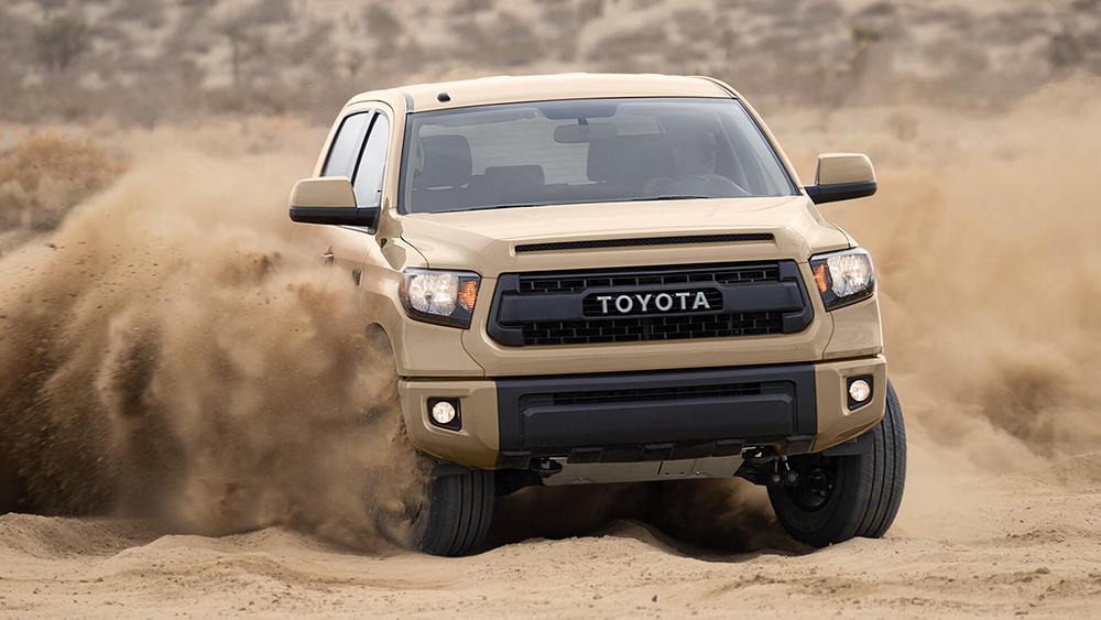 2016 Toyota Tundra Dusty