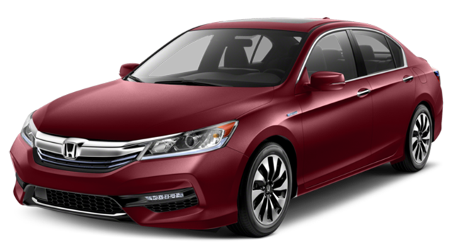 2017 Honda Accord Hybrid Red