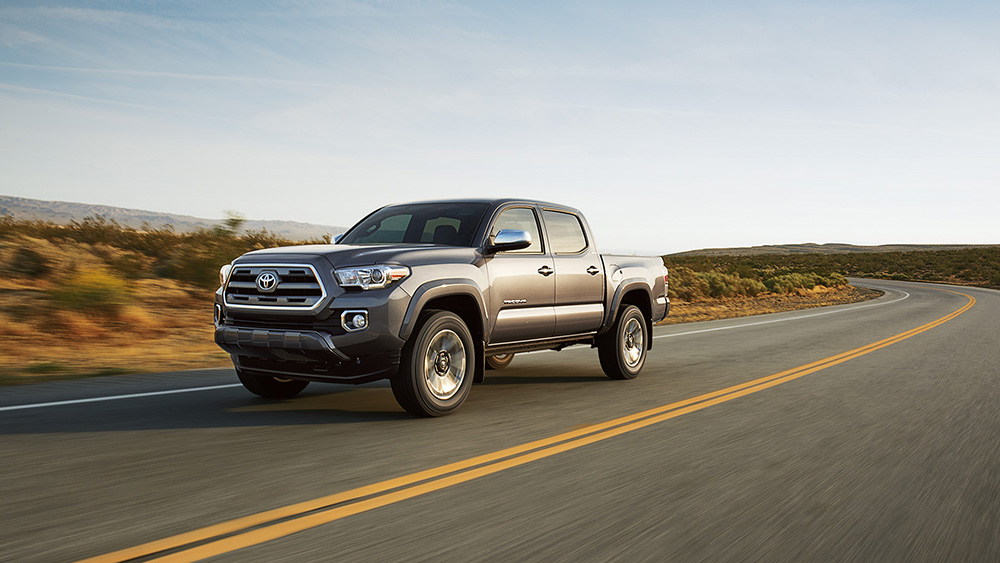 2017 Toyota Tacoma Driving