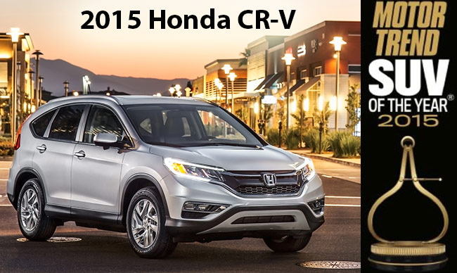 Honda cr v ownership costs and resale value for Motor trend suv of the year list