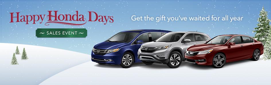 Honda Sales Event >> Happy Honda Days Sales Event Underriner Honda