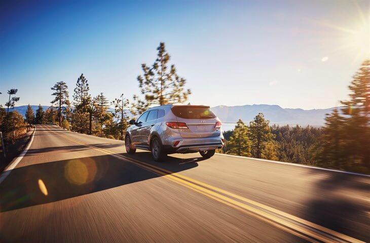 2017 Hyundai Santa Fe Limited Rear