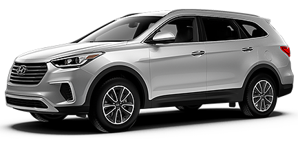 key features on the 2017 hyundai santa fe se trim. Black Bedroom Furniture Sets. Home Design Ideas